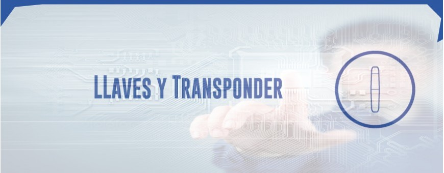 LLAVES Y TRANSPONDER